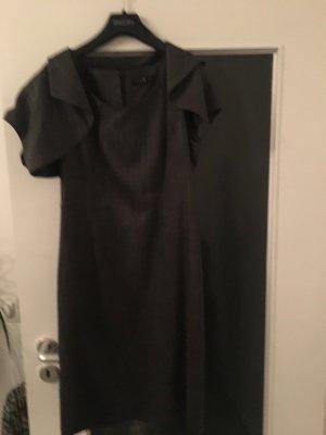 Kleid mit Bolero von Comma, grau , Größe 36