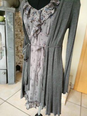 Kleid mit Cardigan Gr. 34/36