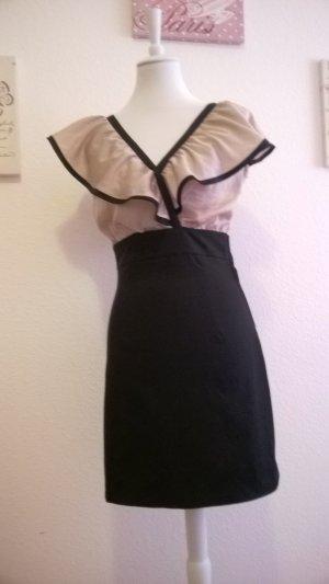 Kleid mit Carmenärmeln /  Sommerkleid / Partykleid / Cocktailkleid
