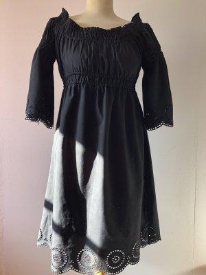 Kleid mit Carmenausschnitt