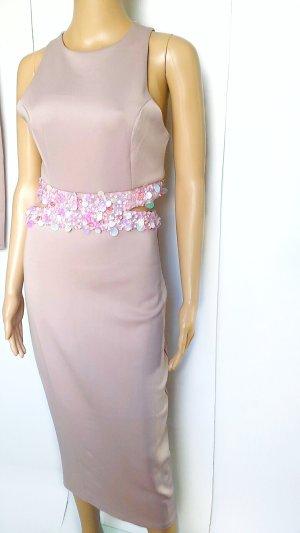 Kleid mit Cut Outs und Pailletten Gr.34/36