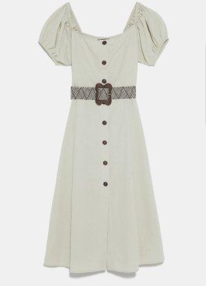 Kleid mit Flechtgürtel von Zara Gr. S - NEU