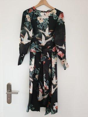 Kleid mit floralem Muster von Zara Gr. S