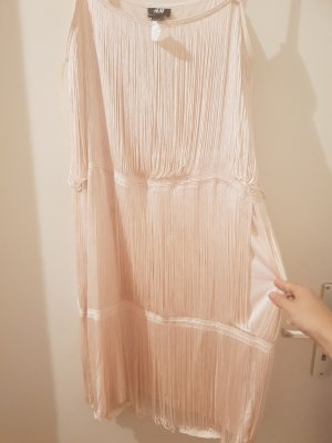 H&M Fringed Dress pink