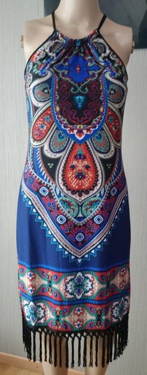 Kleid mit Fransen Gr:36