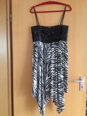 Kleid mit glänzenden Pailletten Oberteil NEU NIE GETRAGEN LIPSY LONDEN