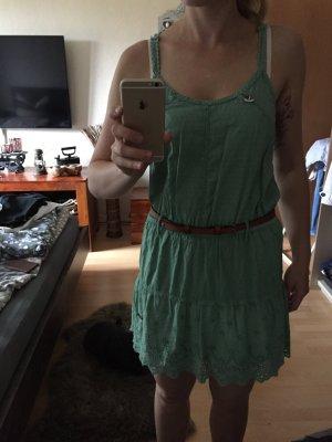 Kleid mit Häkelapplikationen Khujo