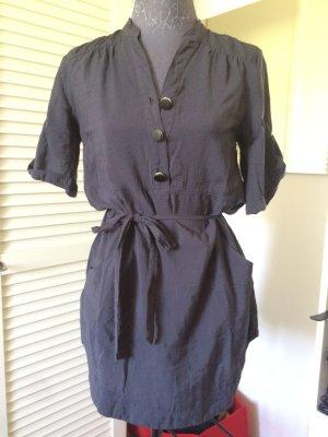 Kleid mit Knöpfen Anthrazit Größe S von Vero Moda