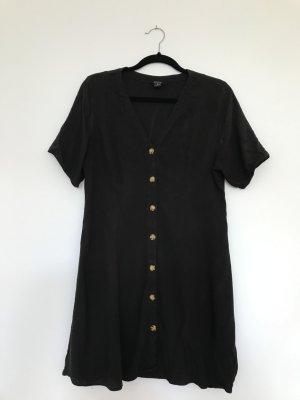 Monki Babydoll-jurk zwart Gemengd weefsel