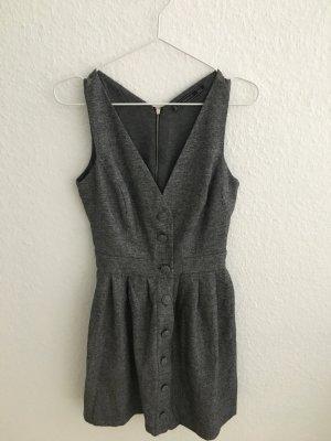 Zara Trafaluc Vestido cut out gris