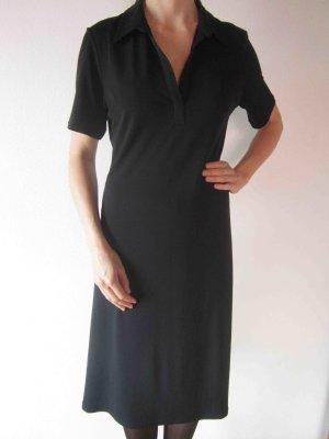 Kleid mit Kragen von Verse in schwarz - casual clean Look