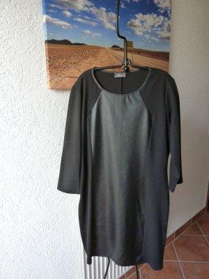 Kleid mit Kunstledereinsatz