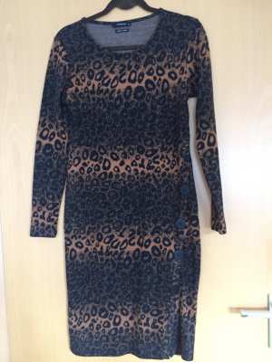 Reserved Sweater Dress multicolored mixture fibre