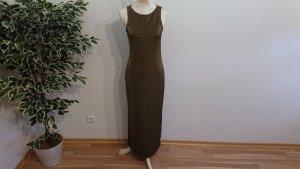 Kleid mit Metallfäden