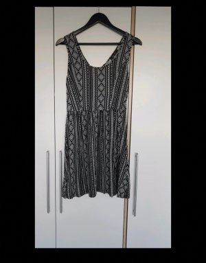 FB Sister Beach Dress white-black