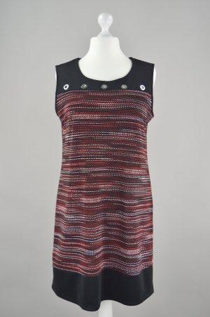 Kleid mit Muster rot Größe 44