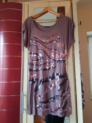 Kleid mit Pailettenmuster in Größe 42
