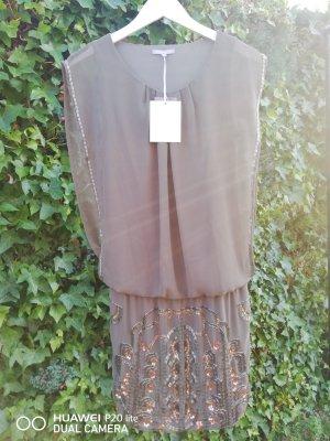 3 Suisses Sequin Dress khaki