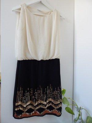 Kleid mit Pailletten-Rock von Vero Moda