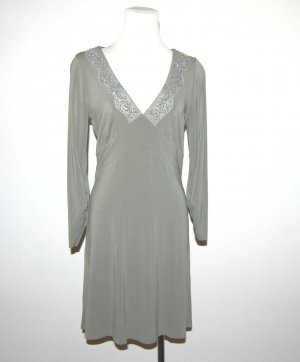 Kleid mit Pailletten von Jones Gr.36
