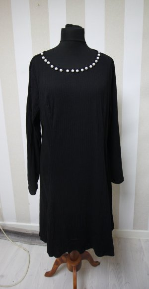Sweat Dress black-white