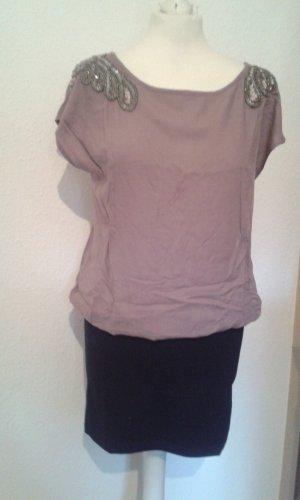 Kleid mit Perlen und Rückenausschnitt NEU