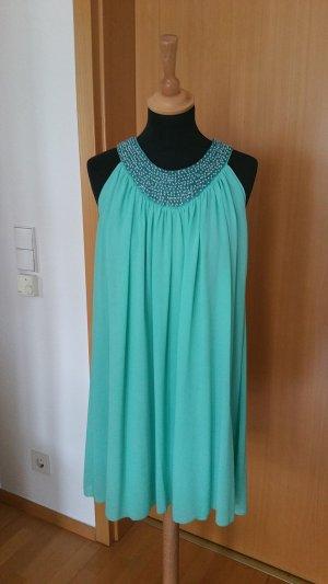 Kleid mit Perlenbesatz Gr. 36