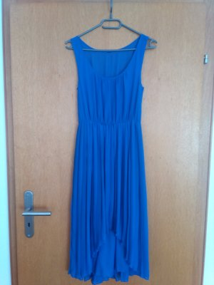H&M High Low Dress neon blue