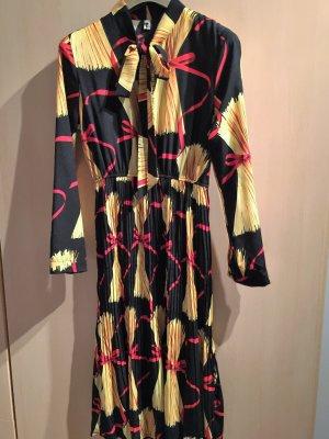 Kleid mit Plisseefalten Gr. 40