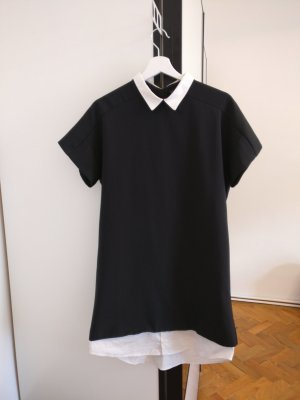 Kleid mit Popelinkragen von Zara