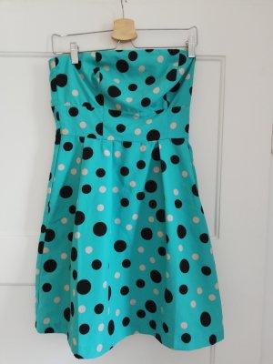 Vero Moda Off-The-Shoulder Dress turquoise