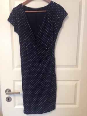 Kleid mit Punkten von Esprit Gr S