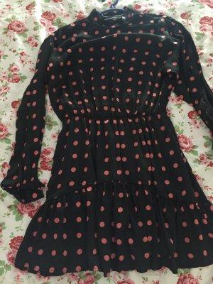 Kleid mit Punkten Zara