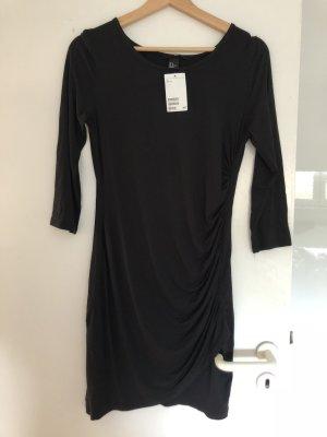 Kleid mit raffung h&m neu