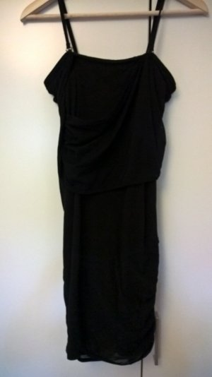 Kleid mit Raffung | Träger abnehmbar | Vila | S