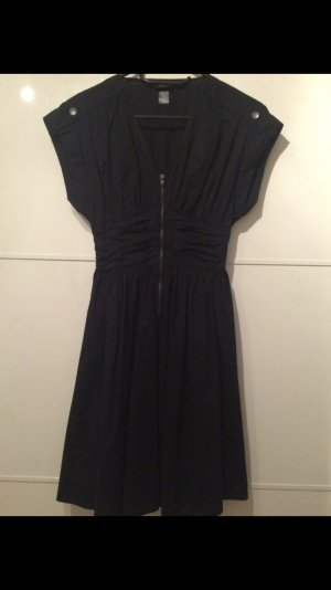 H&M Dress black-silver-colored