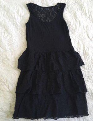 Kleid mit Rücken aus Spitze