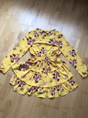 H&M Vestido estilo flounce multicolor