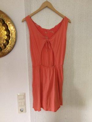 Pull & Bear Midi Dress multicolored cotton