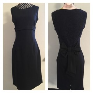 Kleid mit Rückenmuster & Schleife