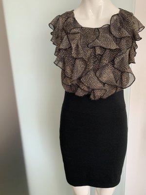 Kleid mit Rüschen Gr 36 38 S von AX by Armani