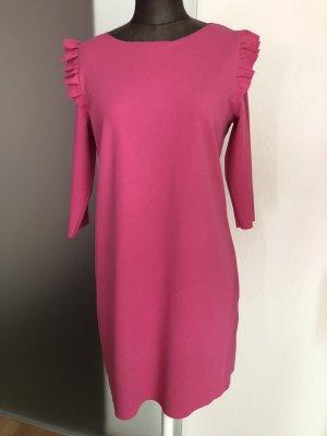 Kleid mit Rüschen  Gr 38 S pink