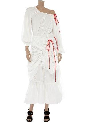Kleid mit Rüschen von Moschino