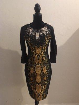 Kleid mit Schlangenhautoptik
