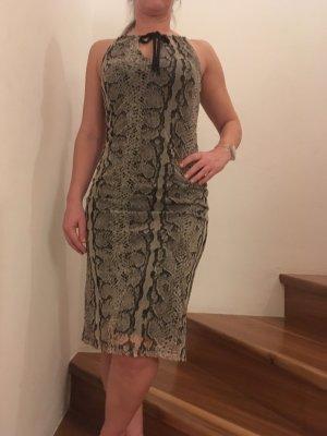 Kleid mit Schlangenprint