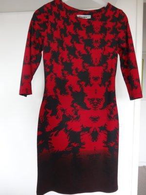 Jerseyjurk rood-zwart Katoen