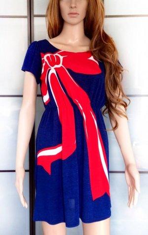 Kleid mit Schleifen-Print