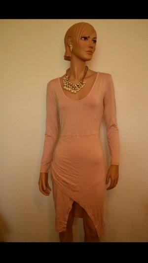 Kleid mit Schlitz Gr. M/L