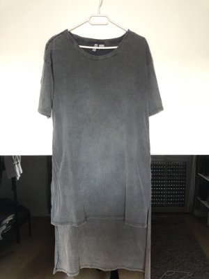 H&M Robe Sweat gris anthracite