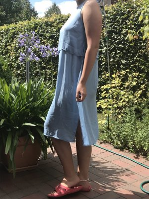 Forever 21 Cut Out Dress baby blue-azure